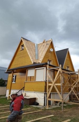 Капитальный ремонт крыши частного дома